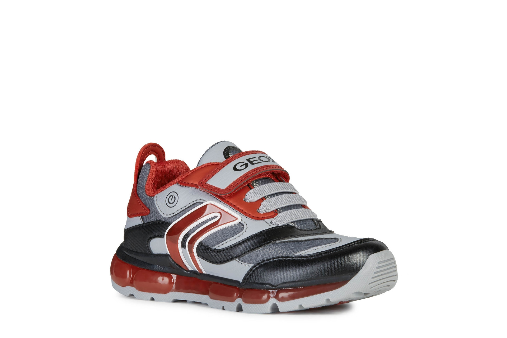 Geox Boys Trainer   Android   Grey Red