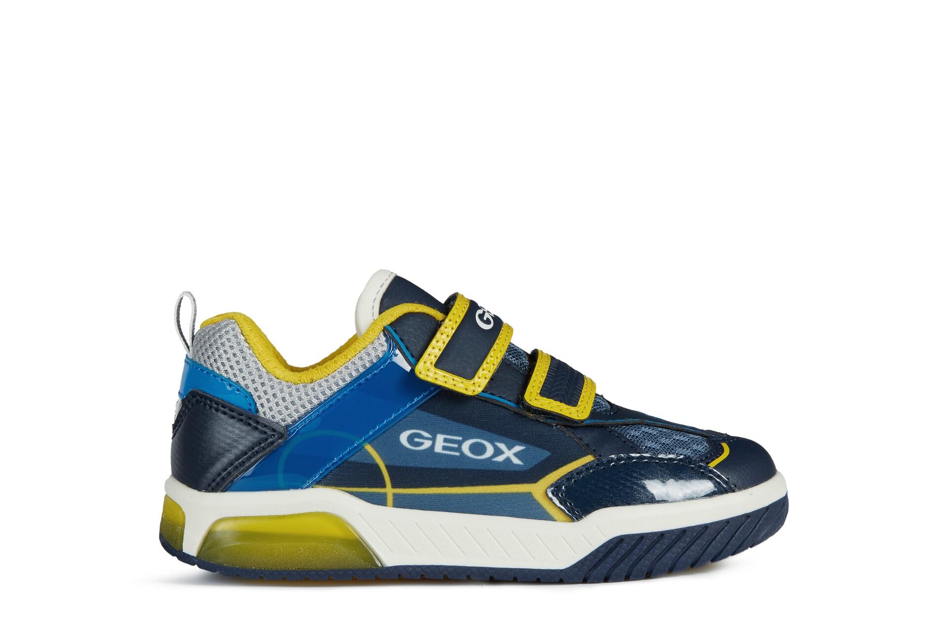 Geox Boys Trainer   INEK lights   Navy/Yellow