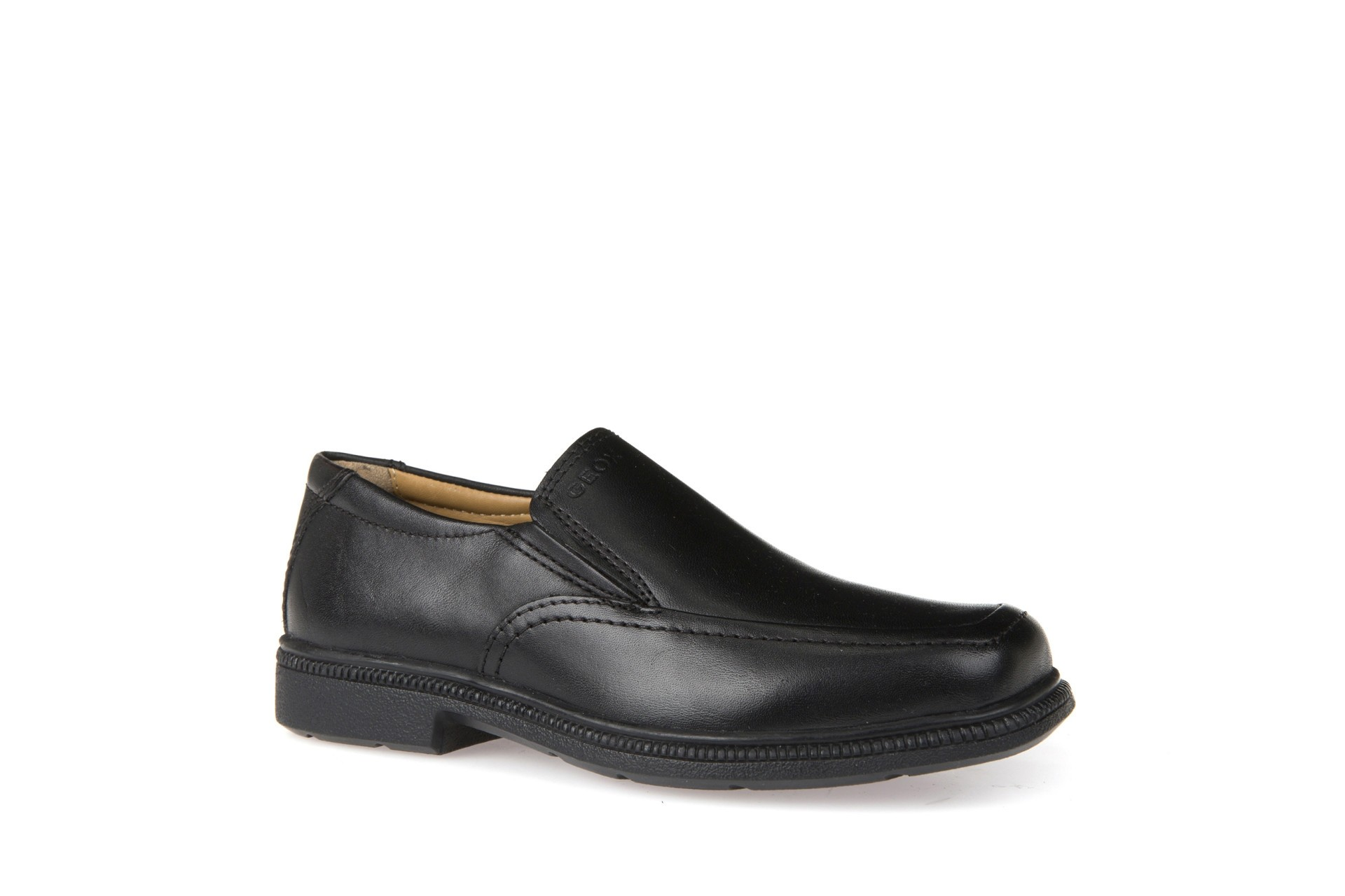 Geox Federico Boys Black Slip-On