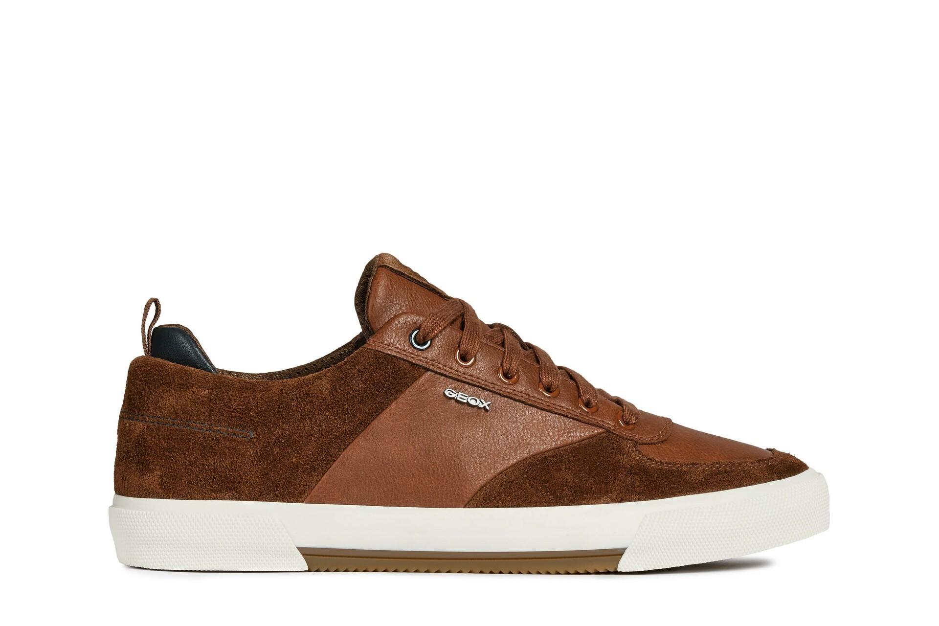 Geox Mens Shoes | Kaven | Brown-Cognac