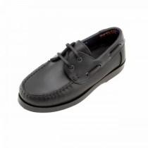 Girls School Shoes-Petasil-Sail (Brown)