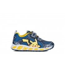 Geox Boys Pokémon Sneaker   JR Shuttle   Navy/Yellow