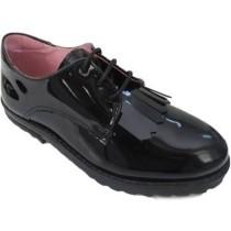 Petasil Girls School Shoes | Tracey | Black Patent