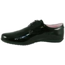 Girls School Shoe-Petasil-Emma (Black Patent)